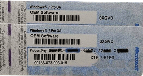 Win 7 Product key for Windows 7