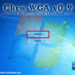 WINDOWS THE TÉLÉCHARGER PATCH 7 CHEW.WGA CRACK.EXE 0.9