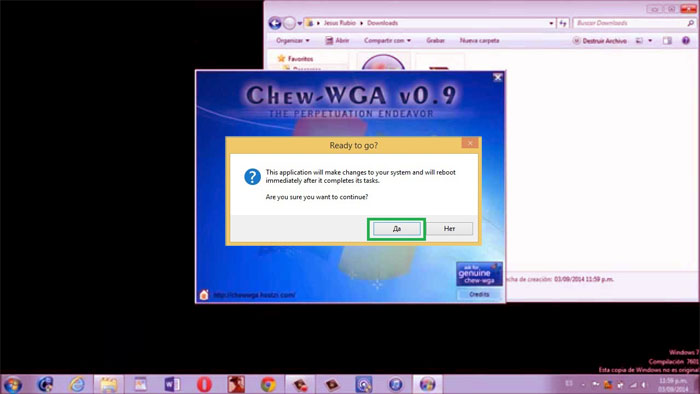 chew-wga 0.9 the windows 7 patch