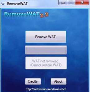 activate Windows 7 Ultimate by RemoveWAT Windows 7